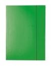 Teczka tekturowa DATURA A4 lakierowana z gumką 21233 zielona