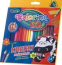 Kredki ołówkowe trójkątne Colorino kids 24 kolorów
