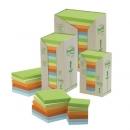 Bloczki samoprzylepne ekologiczne Post-it pastelowe, 655-1RPT 76x127 mm 16 szt.