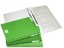 Teczka WARTA do akt osobowych binda wewnętrzna 339-040 zielona