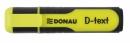 Zakreślacz DONAU D-TEXT Żółty 7358001PL-11