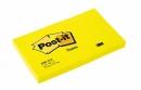 Bloczki samoprzylepne Post-it jaskrawo żółty 654N, 76x127 mm