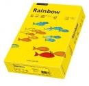 Papier xero kolorowy PAPYRUS A4 Rainbow ciemno żółty 18 80g