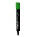 Marker permanentny STAEDTLER Lumocolor z okrągłą końcówką zielony