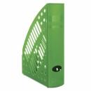 Pojemnik na dokumenty DONAU PS A4 ażurowy zielony 7462001PL-06