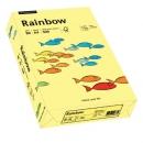 Papier xero kolorowy PAPYRUS A4 Rainbow jasno żółty 12 80g