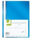 Skoroszyt PP Q-CONNECT A4 niebieski 10szt.