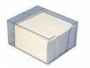 Pojemnik przezroczysty HAS z wkładem papierowym białym 85x85x50 mm