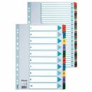 Przekładki kartonowe ESSELTE MYLAR 1-10 kart 100161