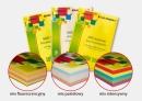 Papier xero kolorowy EMERSON A4 mix kolorów fluorescencyjnych 80G 4 kolorów x 25 arkuszy