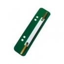 Paski - wąsy do skoroszytu ESSELTE 1430608 zielone 4x25szt.
