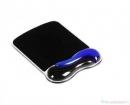 Podkładka KENSINGTON pod mysz Crystal Mouse Pad Wave - żelowa, niebiesko-czarna