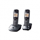 Telefon Panasonic KX-TG2512PDM Duo ciemno szary
