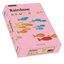 Papier xero kolorowy PAPYRUS A4 Rainbow różowy 55 80g