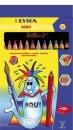 Kredki ołówkowe LYRA Giants Aqui 12 kolorów