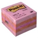 Mini kostka samoprzylepna Post-it różowa 2051-P, 51x51 mm