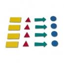 Magnesy 2x3 symbole do planerów AS101