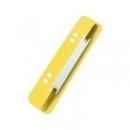 Paski - wąsy do skoroszytu ESSELTE 1430606 żółte 4x25szt.