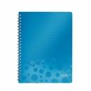 Zeszyt LEITZ BEBOP A4 80k kratka niebieski 45730037
