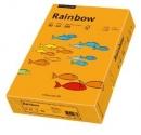 Papier xero kolorowy PAPYRUS A4 Rainbow pomarańczowy 24 80g