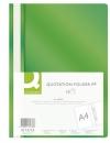 Skoroszyt PP Q-CONNECT A4 zielony 10szt.