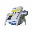 Wizytownik obrotowy DURABLE VISIFIX FLIP na 400 wizytówek 2417-23 szary metalik