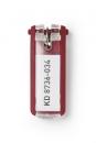 Zawieszki do kluczy DURABLE czerwone 1957-03 KEY CLIP 6szt