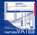 Faktura VAT MICHALCZYK I PROKOP 2/3 A4 netto 102-X oryginał + 2 kopie 80K