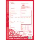 CMR międzynarodowy list przewozowy MICHALCZYK I PROKOP A4 800-2 oryginał + 4 kopie 80 kartek