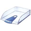 Półka na dokumenty LEITZ A4 Allura 52000005 przezroczysto-niebieski