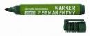 Marker permanentny D.RECT 2160 okrągły zielony 101114