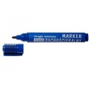 Marker suchościeralny D.RECT 3160 okrągły niebieski 101103