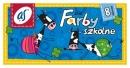 """Farby ASTRA szkolne """"as"""" 8 kolorów 20 ml"""