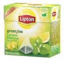 Herbata Lipton green lemon melisa