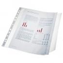 Koszulki groszkowe ESSELTE A4 100 mic. z klapką  10szt. folia 17939