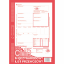 CMR międzynarodowy list przewozowy ( numerowany ) MICHALCZYK I PROKOP A4 800-2N oryginał + 4 kopie 80 kartek