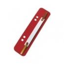 Paski - wąsy do skoroszytu ESSELTE 1430615 czerwone 4x25szt.