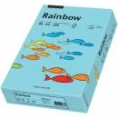 Papier xero kolorowy PAPYRUS A4 Rainbow morski 84 80g