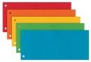 Przekładki kartonowe ESSELTE MAXI mix 624450