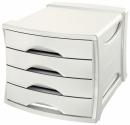Pojemnik z 4 szufladami ESSELTE Europost VIVIDA biały 623959