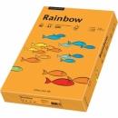 Papier xero kolorowy PAPYRUS A3 Rainbow pomarańczowy 24 80g