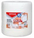 Ręcznik celulozowy JUMBO OFFICE PRODUCTS 1-warstwowe 100m 500 listków biały
