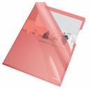 Ofertówka ESSELTE A4 krystaliczna PCV 150 mic czerwona 55433