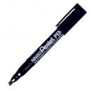 Marker permanentny PENTEL NN60 czarny ze ściętą końcówką