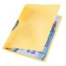 Skoroszyt LEITZ RAINBOW A4 ColorClip 41760015 żółty