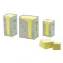 Bloczki samoprzylepne ekologiczne Post-it żółte, 653-1T 38x51 mm 24 szt.