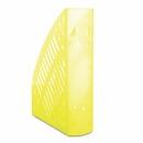 Pojemnik na dokumenty DONAU PS A4 ażurowy transparentny żółty 7462188PL-11