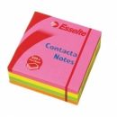 Kostka samoprzylepna ESSELTE CONTACTA 83065 75x75 mm 320 kartek neon