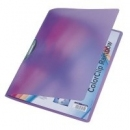 Skoroszyt LEITZ RAINBOW A4 ColorClip 41760065 fioletowy