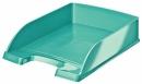 Półka na dokumenty LEITZ Plus metaliczny turkusowy WOW 52263051
